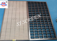 Oil Vibrating Mi Swaco Shale Shaker Screens For Solid Control Equipment