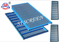 China Oil Drilling Steel Frame Screen Hexagonal Hole Shape For Solid Control Equipment factory