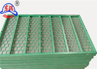 Steel Frame Vibrating Screen Wire Mesh / Shaker Screen Mesh For Mud Separation
