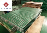 China API RP 13C Kemtron Shaker Screen Rectangle / Hexagonal Shape Green Color factory