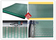 Lightweight Rectangle Oil Vibrating Screen 1050x695 Mm Size API RP 13C Standard