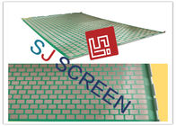 China 2000 48- 30 PWP Shale Shaker Screen Durable 2-3 Layers 1053x697mm Size factory