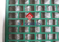 China Rectangle Green Shale Shaker Screen Durability API RP 13C Standard factory