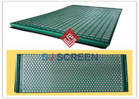 China FLC 500 Wave Typed Shale Shaker Screen 1050mm Length High Utilization Rate factory
