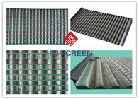 FLC 500 Wave Typed Shale Shaker Screen 1050mm Length High Utilization Rate