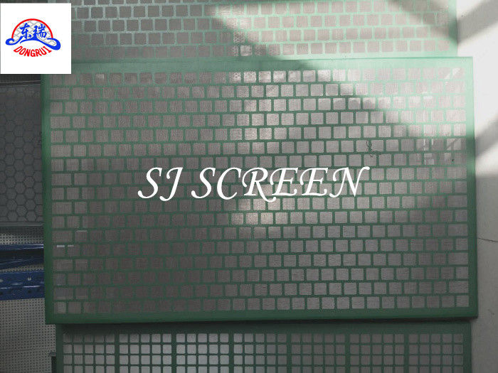Simple Perforation Pattern Solid Control Shaker Screen High Efficiency