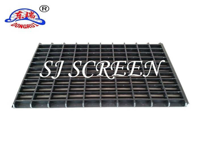 Grey Mongoose Shaker Screens , Stainless Steel Wire Mesh Square Hole Shape