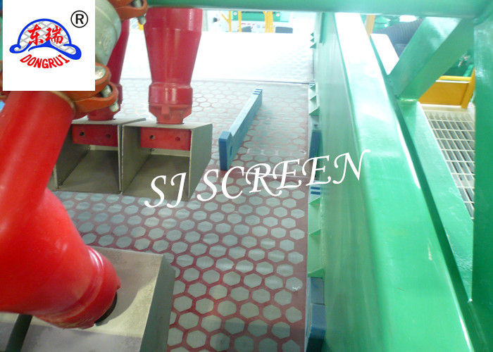 1165 * 585 *40mm Shale Shaker Screen Square Hole Shape For Liquid Filter