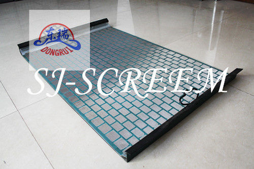 1053 X 697mm Dimension Oilfield Screens Stainless Steel Wire Mesh Material