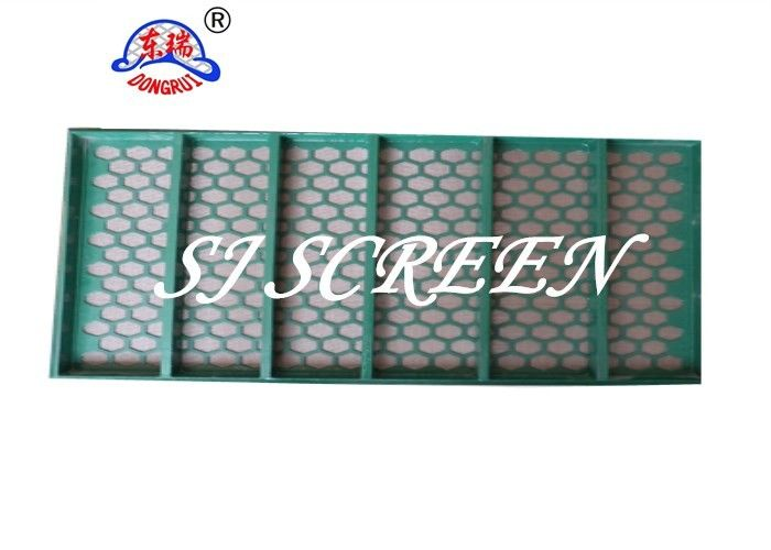 Coal Cleaning FSI Shaker Screen / Shale Shaker Mesh Screen Rugged Structural Support