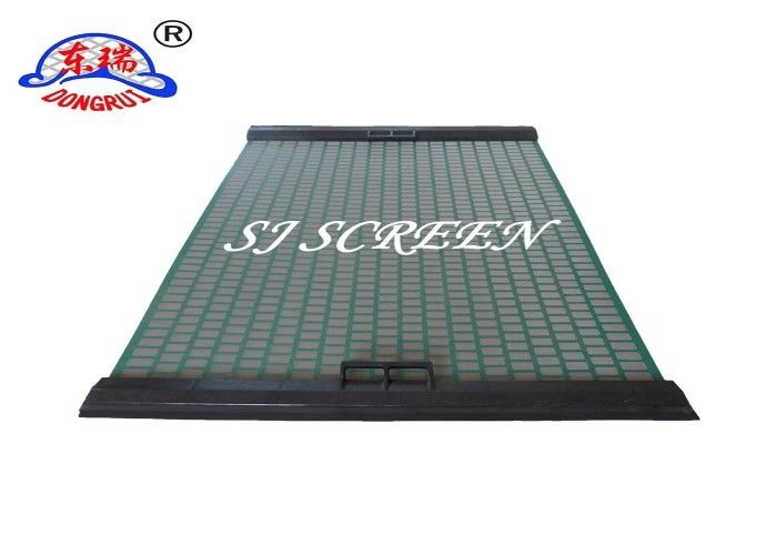 1050*697MM Shale Shaker Screen / Oil Vibrating Sieving Mesh For Oil Drilling