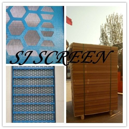 Strong Solid Shale Shaker Mesh Screen High Screen Frame Strength Flat Surface