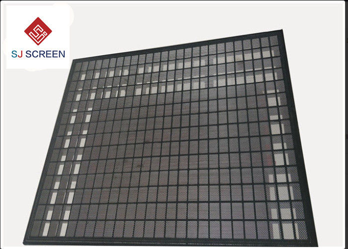 3 Layer 304 Stainless Steel Rock Shaker Screen For Mud Separation