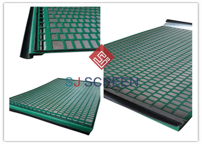Rectangle Industrial Sieves And Screens Solid Control Shaker Screen 1 Year Warranty