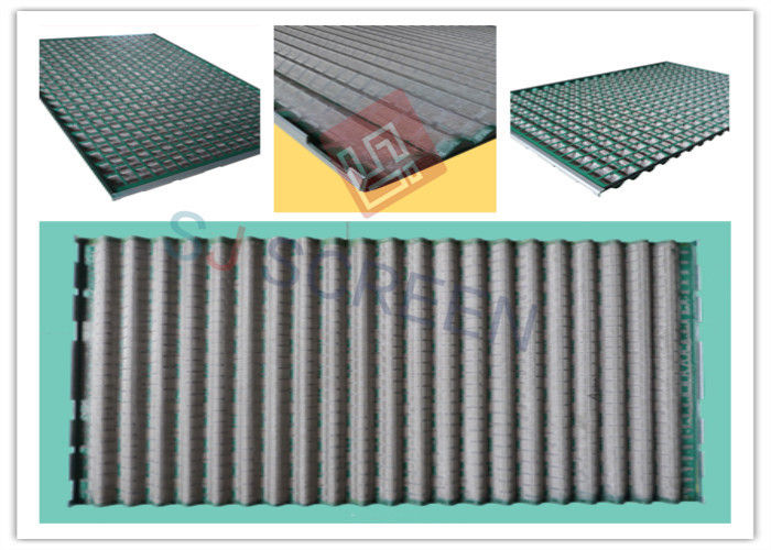 Rectangle Green Shale Shaker Screen Durability API RP 13C Standard
