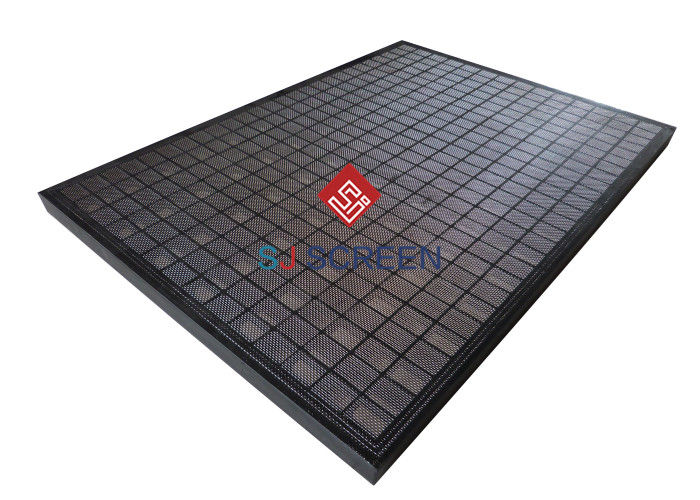 Durable Solid Control Shaker Screen , Steel Frame Screen Long Working Life