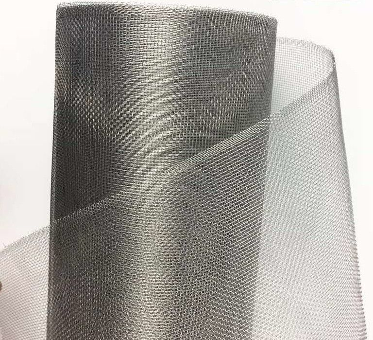Plain Weave 304 Stainless Steel Welded Mesh Insect Netting 22 Mesh