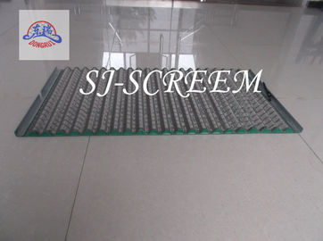 China Green Rock Shaker Screen Dorrick  Wave Vibrating Screen For Drilling factory