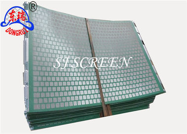China Oilfield Screens , Rock Shaker Screen 1050*695 MM For Solid Control Equipment factory