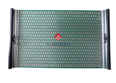 China Rectangle VSM 300 Shaker Screens 99% Filter Rating API RP 13C Standard distributor