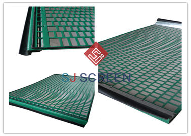 China Rectangle Industrial Sieves And Screens Solid Control Shaker Screen 1 Year Warranty distributor