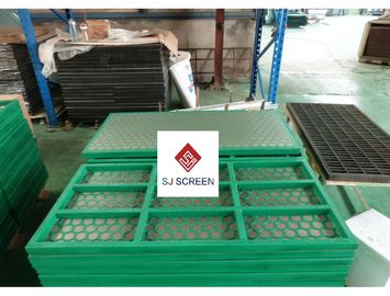 China SWACO MONGOOSE Rock Shaker Screen Q 235 Steel / Composite Materials Size Custom distributor