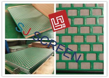 China 48x30 Shale Shaker Screen PWP Personal Tailor 2-3 Layers Rectangle / Hexagonal Mesh Shape factory
