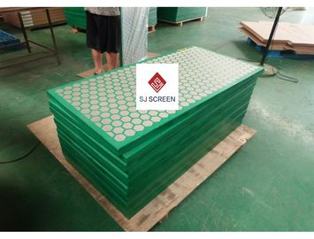 China High Performance Mi Swaco Shaker Screens , Vibrating Screen Mesh distributor