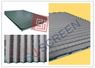 China Rectangle Green Oilfield Shaker Screen Sand Dewatering Screen API RP 13C Standard distributor