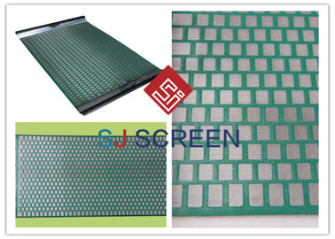 China FLC 500 Wave Typed DurableShaker Screen Mesh High Utilization Rate Green Color distributor