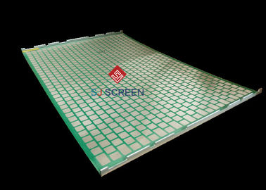 China 2000 48- 30 PWP Shale Shaker Screen , Vibration Screen Mesh API Certification distributor