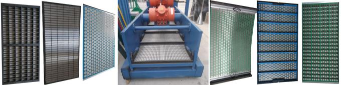 Solid Control Mongoose Shaker Screens / Shaker Screen Mesh For Drilling Field