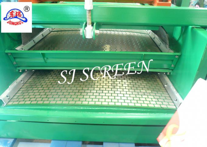 Oilfield Steel Frame Screen / Shale Shaker Screen 1180*712 Mm Dimension