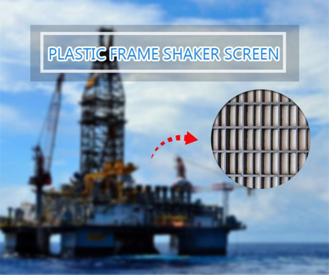 Oilfield Mud Separation Mongoose Shaker Screens For Solid Control Equipment