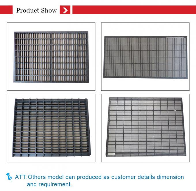 20 - 325 Mesh Count Mi Swaco Shaker Screens Moderate Tensioned Screen Cloth