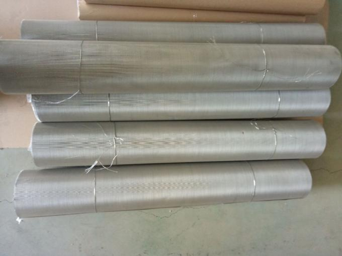 Eco - Friendly Material Stainless Steel Wire Mesh Screen Plain Weave Mesh