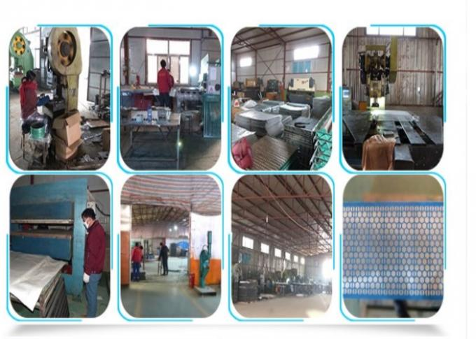 Mud Separation Shale Shaker Screen 316 Stainless Steel Material 85%-93% Filter Rating