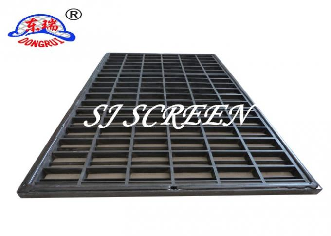 Swaco Mongoose Shaker Screens Stainless Steel Wire Mesh And Plastic Frame Material