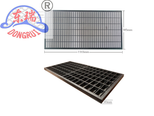 Plastic Composite Frame Industrial Sieves And Screens ISO9001 Standard