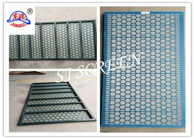 Iron / Plastic Frame Brandt Shaker Screens Corrosion Resisting 1250 X 635mm Size