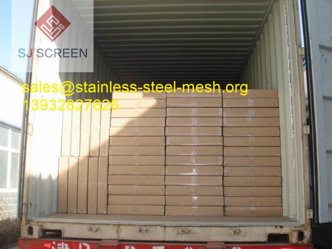 Professional Oilfield Screens Stainless Steel Wire Mesh 1070*570mm Size