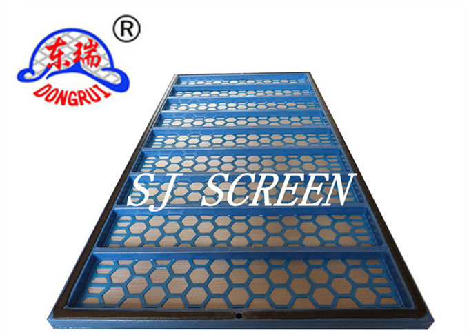Hexagonal Hole Shape Shale Shaker Screen For Solid Control System Oilfield Equipment