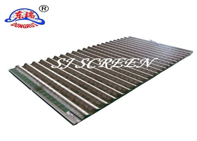 Oilfield Screens / Shale Shaker Screen 1053 Mm*697mm*20mm 99% Filter Rating