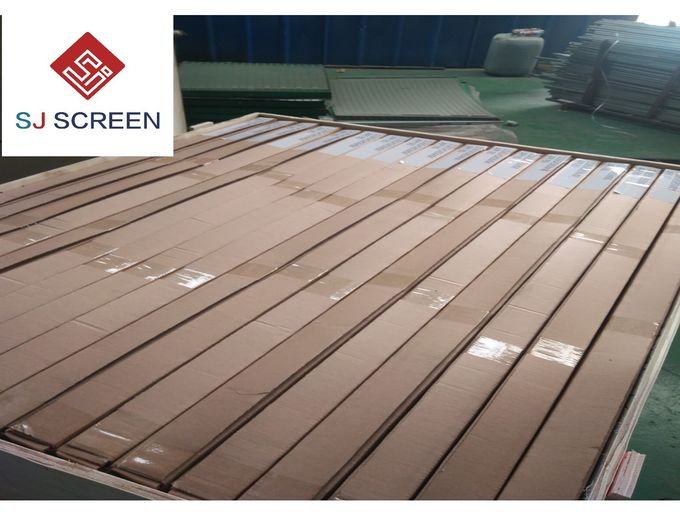 Green Composite Shaker Screen Durability Rectangle Shape API120-API325 Listed