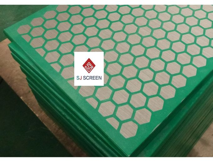 High Performance Mi Swaco Shaker Screens , Vibrating Screen Mesh