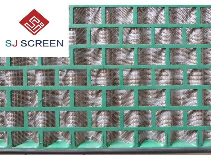 Professional Flc 2000 / 48-30  Rock Shaker Screen High Utilization Rate